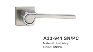 아연 합금 문 손잡이 자물쇠 (M33-941 SN/PC)