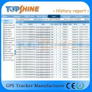 Uma vez o pagamento GPRS GPS01 de Software de rastreamento com função de navegação