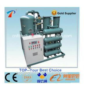 PLC completamente automática de doble etapa de tratamiento de aceite de transformadores de la máquina (ZYD-150)