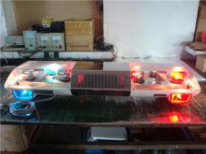 Polizeiwagen-Rotator-heller Stab-Röhrenblitz, der Lightbar (TBD01922, warnt)