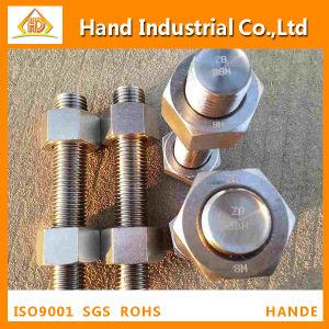 La norme ASME UN194 B8 B8m l'écrou hexagonal M16 avec le boulon