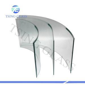 3-19mm plano / / doblados en forma / Curvo Vidrio templado de vidrio templado de vidrio de seguridad con los orificios/bordes pulidos/Logo