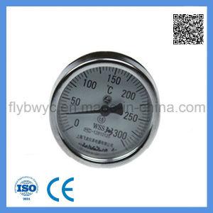 0-400 c термометр биметаллической пластины с внутренним шаровым шарниром