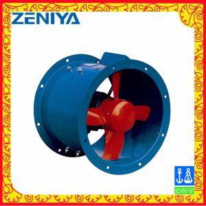 Baixo ruído de ventilador axial para a agricultura