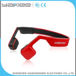 赤い携帯電話の骨導の無線Bluetoothのステレオヘッドセット