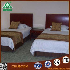 Negro de madera maciza Muebles Muebles de sofá-cama de Hotel Hotel