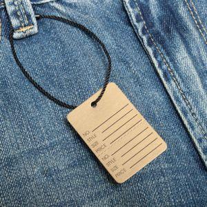 Escrituras de la etiqueta de encargo de la ropa de la ropa (5911-5)