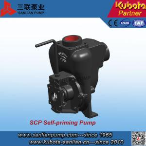 Motor a gasolina comandada da bomba de água de esgoto com certificado CE
