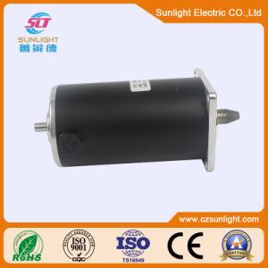 12V/24V DC Motor de cepillo eléctrico