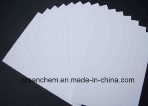 Documento de la Junta de Bristol blanca/tarjeta blanca de papel cartón