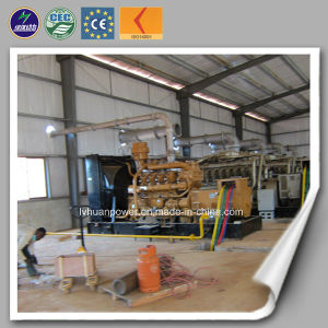 Biogás Colheitadeira térmica calor e electricidade 100kVA-1000kVA Drived Biogás motor gerador de biogás geral