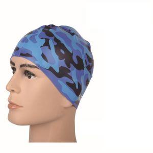 Confortável de touca de silicone resistente à prova de nadar Caps Chapéus unissexo