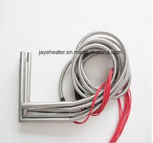 Электрический обогреватель картриджа из нержавеющей стали с оплеткой провода