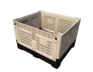 Recipiente dobrável de HDPE de alta qualidade Caixa de paletes para Armazenamento