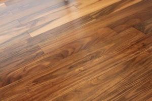 Pisos de madera de acacia/Asia piso de madera de nogal
