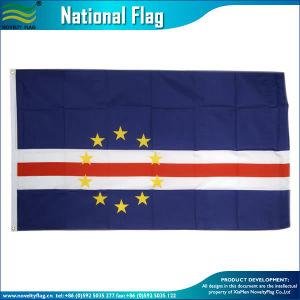 5*8FTポリエステル屋外の国の旗の島のカーボベルデ共和国のフラグ(J-NF05F06163)