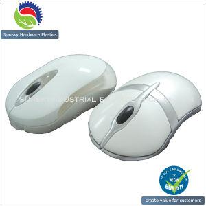 Gloss Moagem CNC plástico rápida protótipo para mouse (PR10071)