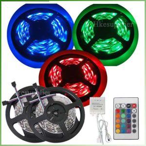 Tiras Flexibles LED SMD 5050 de la luz de LED RGB