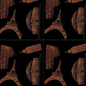 Tsautop新しいパターン1m/0.5m漫画デザインV交互復讐PVA水転送の印刷のフィルムの水路測量のフィルムのハイドロ印刷のフィルムTssw999