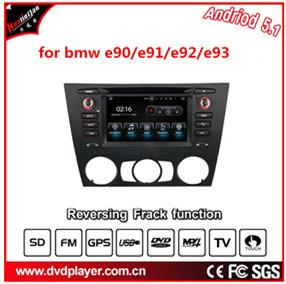 Carplay para o áudio do carro BMW E90/E91/E92/E93 com leitor de MP4 GPS Navigator