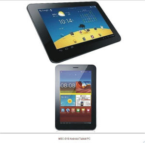 7''Tablet PC principal Android4.0 IC: Mtk6575: CPU Dual Core 1,0Ghz