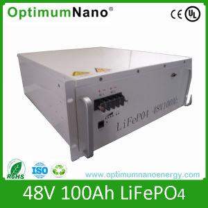 LiFePO4 48 100Ah batería de litio para el Sistema Solar con BMS