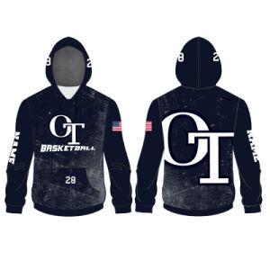 cebf94d79737c Diseño personalizado de Baloncesto Jersey sudaderas con capucha chaqueta  para hombre