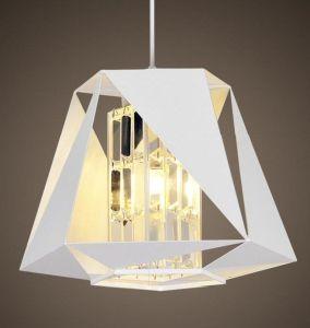 Lâmpada Pendente de metal com o Crystal Sombra (WHP-035)