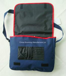 キャンパスの吊り鎖の郵便集配人文書のCrossbodyビジネスメッセンジャーのショルダー・バッグ