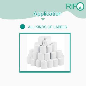 Druckempfindliche Aufkleber-materielles synthetisches Papier für flexibles bedruckbares MSDS