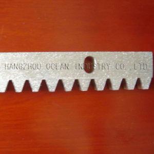Crémaillère en acier et en nylon pour la porte de Soliding