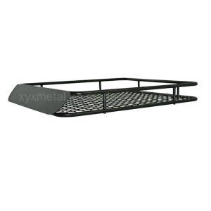 風整形が付いているユニバーサル鋼鉄屋根の貨物バスケットラック