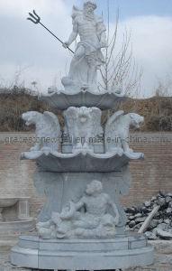 Fontein van de Tuin van Hunan de Witte Marmeren (gs-F-125)