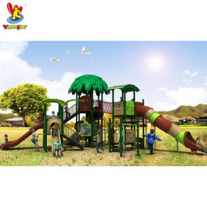 TUV Arbre standard style maison de jeux pour enfants de l'équipement de plein air