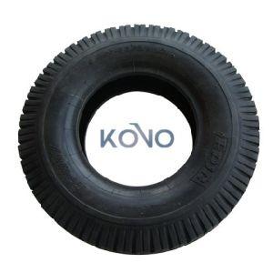 기준 4.00-8 외바퀴 손수레 고품질 타이어