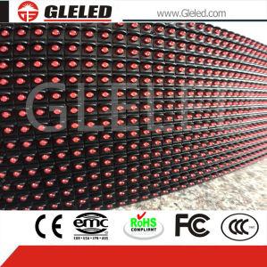 P10 seul module d'affichage à LED rouge