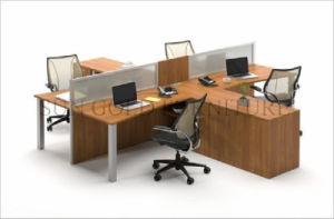La nueva partición Modular 4 Persona de la Oficina del banco de trabajo Estación de trabajo (SZ-WST842)