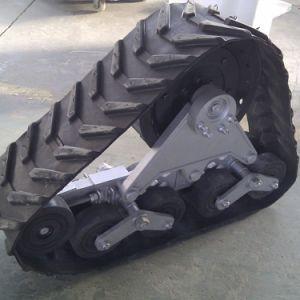 280mmの幅小さい積み込みの手段のためのゴム製トラック変換システム
