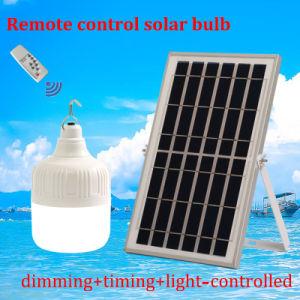 リモート・コントロール緊急の球根照明の再充電可能なLED太陽ライト