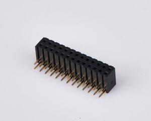 Embase femelle de 2,0 mm Pitch DIP des connecteurs , broche broche du connecteur unité de récolte