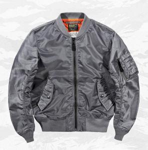 고전적인 Ma 1 시리즈 주문 로고를 가진 남녀 공통 폭격기 재킷