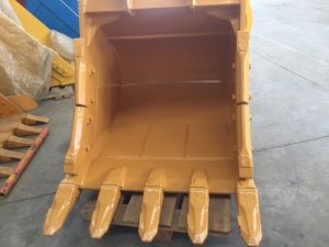 Rock Heavy Duty pièces Caterpillar de godet pour l'ingénierie de l'industrie de construction avec des dents