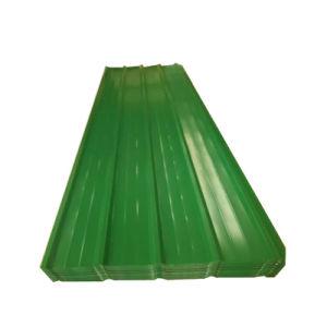 PPGI Prepainted холодной оцинкованного листа крыши из гофрированного картона для кровельной плитки
