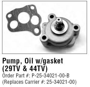 16851-35012 Z482 D722 Oil Pump per Kubota F3060 Front Mower