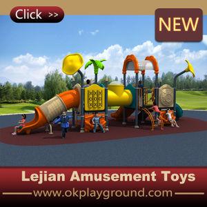 CE Haute Qualité enfants plastique en plein air Aire de jeux (X1239-10)