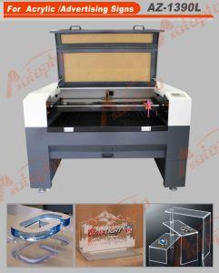 Два блока цилиндров CO2 лазерная резка машины для рекламных знаков резки
