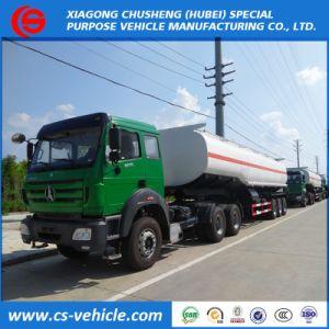 Beibei/HOWOのトラクターのトラック+ 3車軸42000L 45000リットル50000 L石油タンカー/燃料タンクのトラックのトレーラー