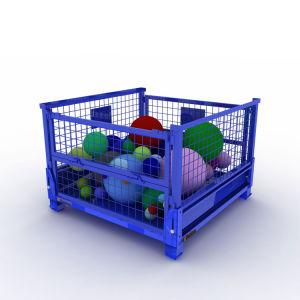 يطوي يستعمل معدن من شبكة وعاء صندوق لأنّ عمليّة بيع