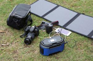 De draagbare MiniGenerator van de Omschakelaar van de ZonneMacht 200W met Zonnepaneel