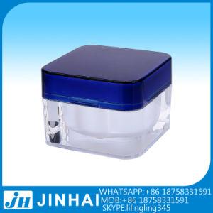 (t) Lotionのための5g Colorful Acrylic Cosmetic Cream Jar